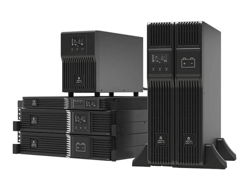 Access Inc Vertiv™ Liebert® PSI5 UPS, 750-5,000VA Line Interactive AVR, Mini Tower, 1U and 2U Rack/Tower